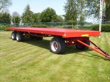 PLATTE wagens platform trailer