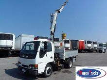 2000 ISUZU NKR 55 L dump truck