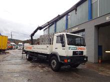 1997 MAN 18.260 flatbed truck