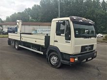 1999 MAN 10 224 flatbed truck