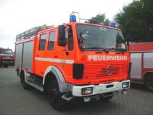 1987 MERCEDES-BENZ fire truck