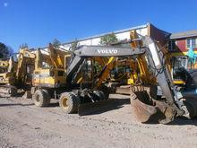 1997 VOLVO EW150C, excavator wh