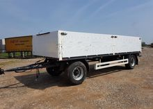 1999 KRONE flatbed trailer