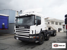 2002 SCANIA P114 chassis truck