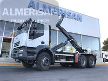 2007 IVECO AT260T38 hook lift