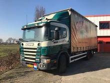 1999 SCANIA P114.340 tilt truck