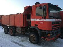 1997 GINAF 360 ATI dump truck