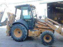 2005 CASE 580SR backhoe loader
