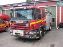 1997 SCANIA P-94 fire truck