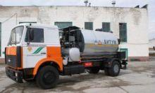 MAZ MBM-7 asphalt distributor