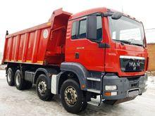 2011 MAN TGS 41.390 dump truck