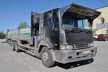 1998 HINO Profia flatbed truck