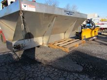 USED STAINLESS STEEL 8FT MEYER