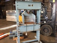 80 TON SHOP PRESS H-FRAME ELECT