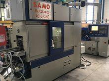 2017 SAMO MULTIAXES 16.6 CNC EX