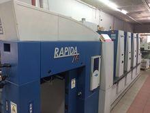 2004 KBA Rapida 74-4PWHA