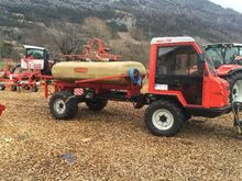 Fischer Aufbautank mit Pumpe