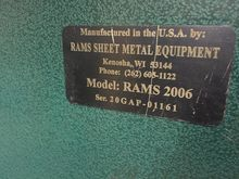 Rams Pittsburgh Machine