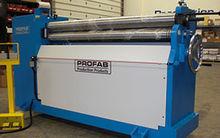 PROFAB Hydraulic Bending Roll M