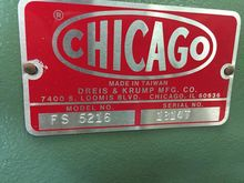 Used Chicago 5216 Fo