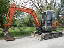 2005 Hitachi ZX50 Mini digger