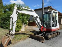 2002 Takeuchi TB 135 Mini digge