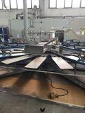 Screen printing carousel Tek In