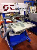 Screen printing machine used mu