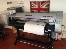 Mimaki plotter printing and cut