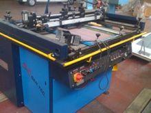 screen printing machine folding