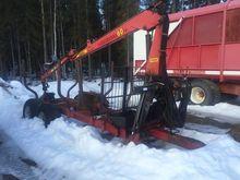 Patruuna 10 ton vagn med 6 Mete