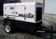 2008 Wacker G50 Generator, 50kv