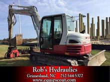2012 Takeuchi TB285 Mini Excava