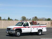 2003 GMC with Cascade Fire Equi