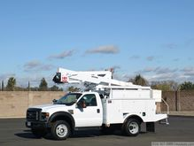 2008 Ford F550 XL SD with Terex