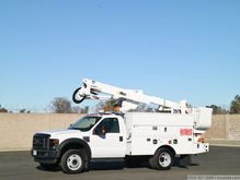 2009 Ford F550 XL SD with Altec