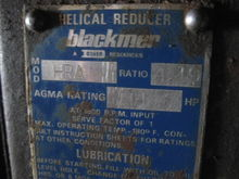 Blackmer Helical Gear Reducer.