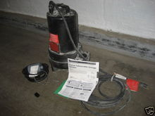 1HP Dayton Submersible Sewage E
