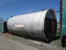 13,500 Horizontal Steel Tank