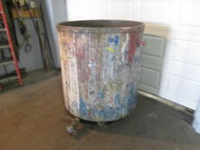 Used 250 gallon Stee