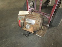 used 3 hp US Electric Motor 343