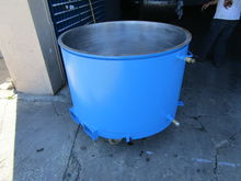 used 150 gallon Ross Mix Can 34