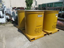 three(3) used 300 gallon Clawso