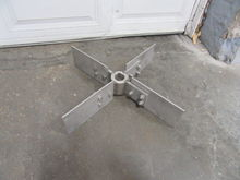 Stainless steel Hub for mixing