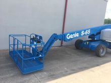 2013 Genie S65 Aerial Work Plat