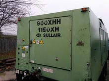 2009 Sullair 900 XHH Air Compre