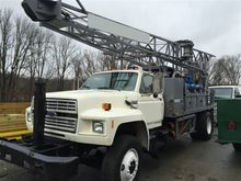1990 Mobile B61 HDX Drill Rig #