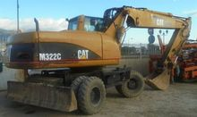 2003 Caterpillar M322C Wheel Ex