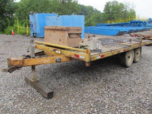 2004 Elgin 16 Foot Flatbed Trai