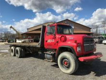 1995 Ford Roll Back Winch Truck
